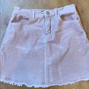 Brandy Melville light pink Juliette Skirt